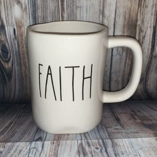 Rae dunn faith mug