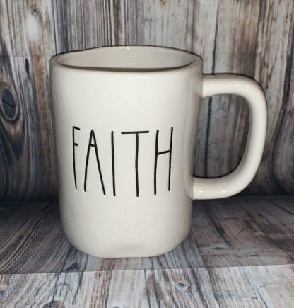 Rae dunn faith mug