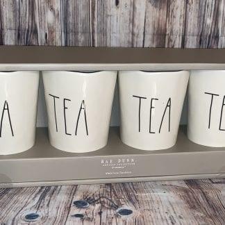 Rae Dunn tea melamine tumblers