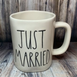 Rae Dunn Just Married Mug
