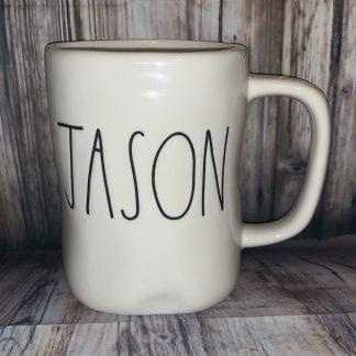 Rae Dunn JASON name mug