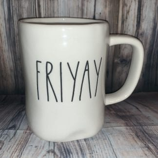 Rae dunn friyay mug