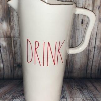 Rae Dunn DRINK Melamine Pitcher