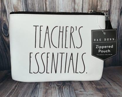 rae dunn teacher pouch