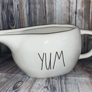 Rae Dunn yum gravy boat