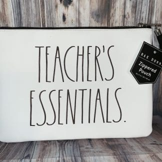 rae dunn teachers essentials bag