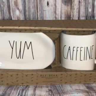 Rae Dunn yum and caffeine set