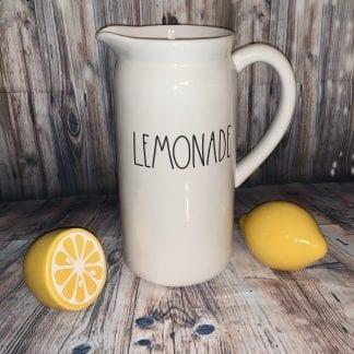 Rae Dunn ceramic lemonade pitcher