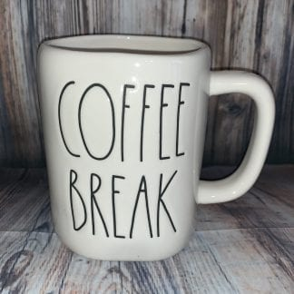 Rae Dunn coffee break mug