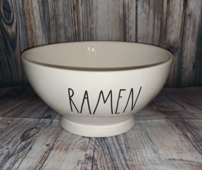 Rae Dunn Ramen bowl