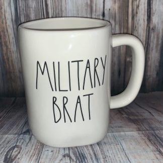 Rae Dunn Military brat mug