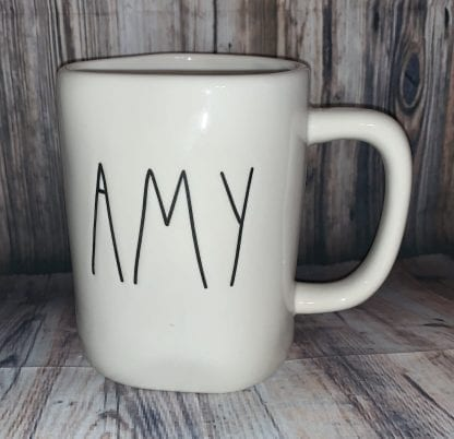 Rae Dunn Amy mug
