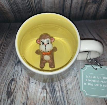 10 strawberry street monkey mug
