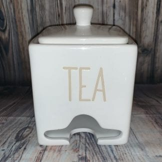 Tea packet dispenser