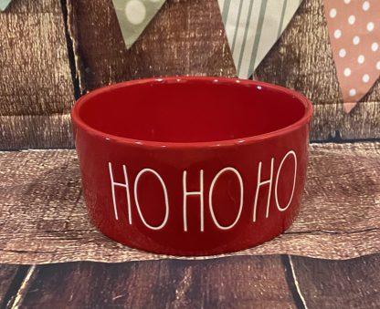 Rae Dunn Christmas Dog Bowl