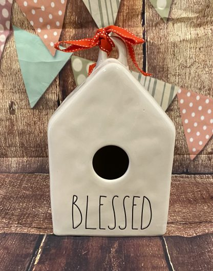 Rae Dunn Blessed Birdhouse