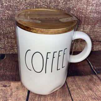 Rae Dunn Coffee mug with lid