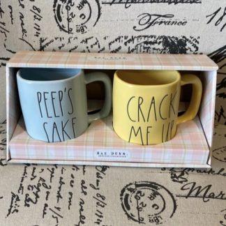rae dunn easter mugs